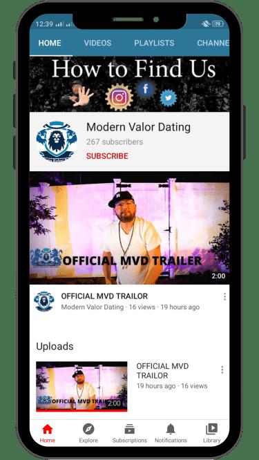 Modern Valor Dating YouTube